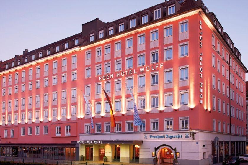Eden Hotel Wolff Exterior view