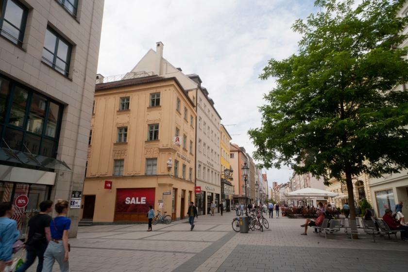 Sendlingerstr. corner Dultstr.