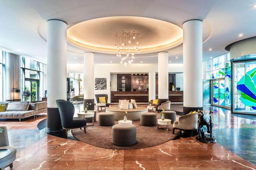 Le Méridien Munich - Lobby area