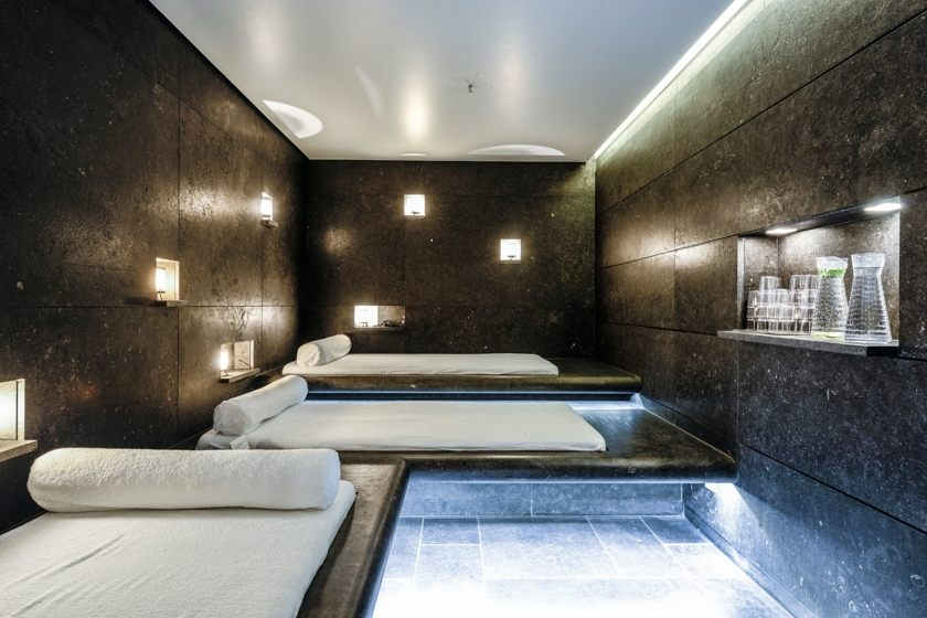 Blue Spa rest room