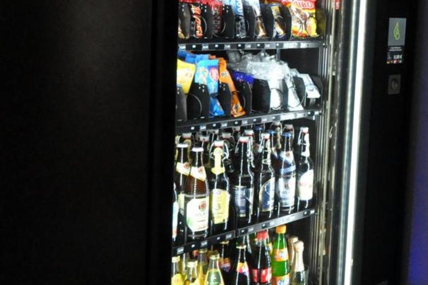 "Our 24-hr vending machine ""Spezl"""