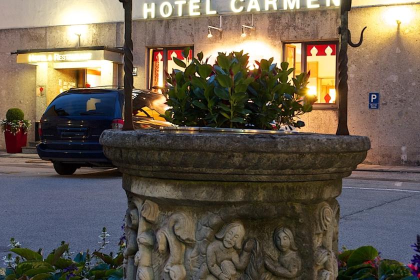 Hotel Carmen Eingang