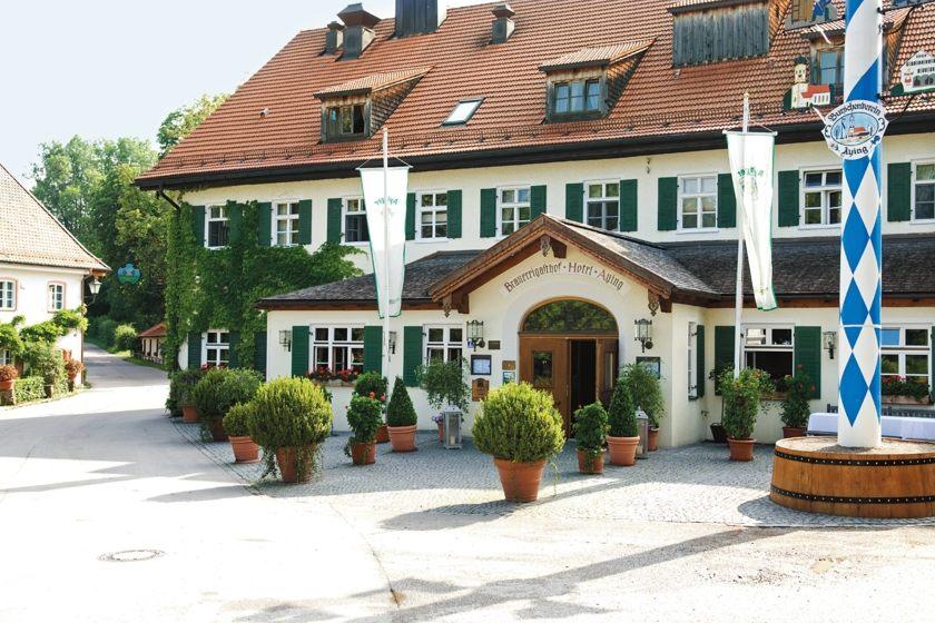 Haupthaus Brauereigasthof Hotel Aying