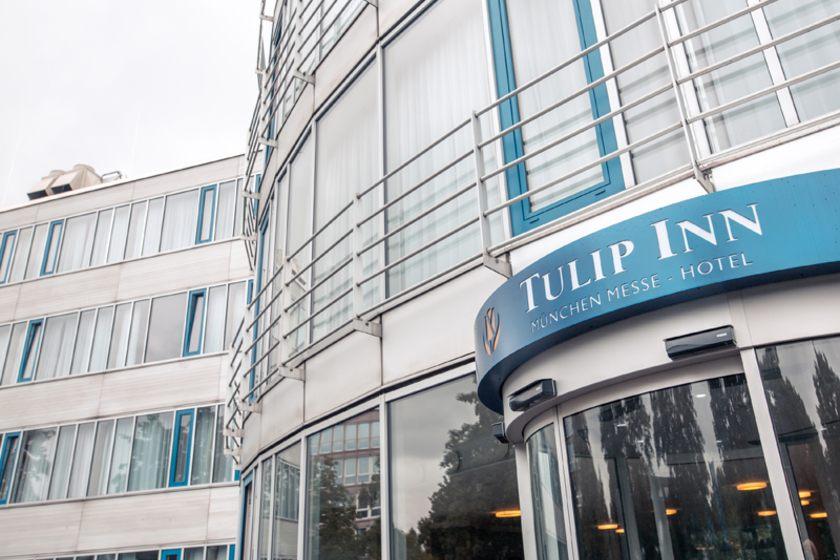 Tulip Inn München Messe Eingang
