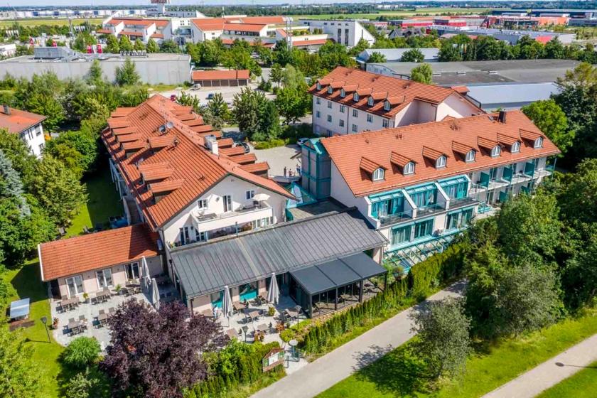 Außenansicht Best Western Plus Hotel Erb Parsorf-München
