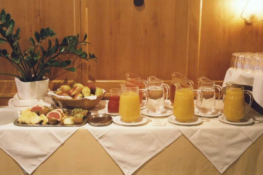 Fresh Fruit and Juice Buffet