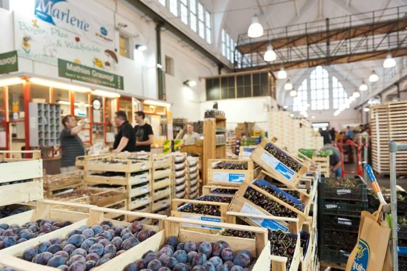 Großmarkthalle Obst