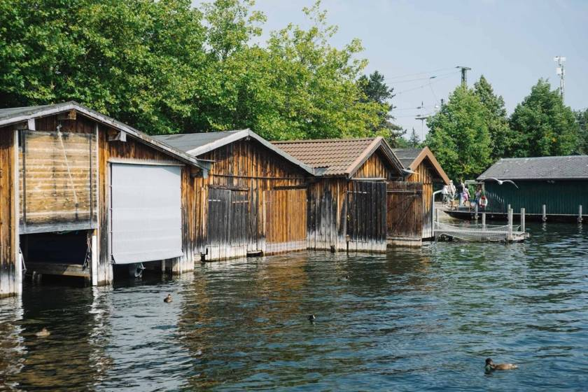 Starnberger See Bootshäuser dm0042