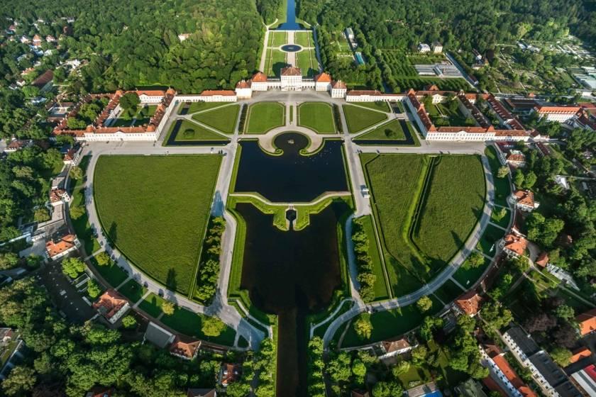 Viertlboeck Nymphenburg von oben