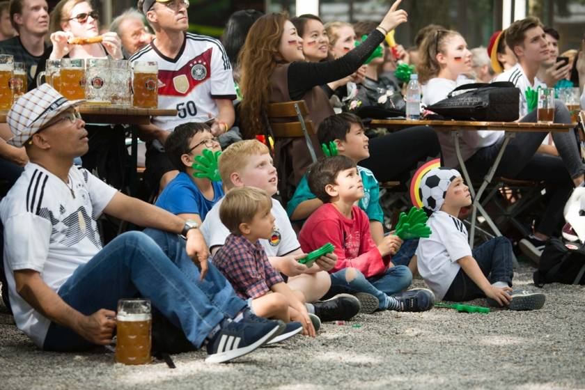 Fussball Public Viewing 9169