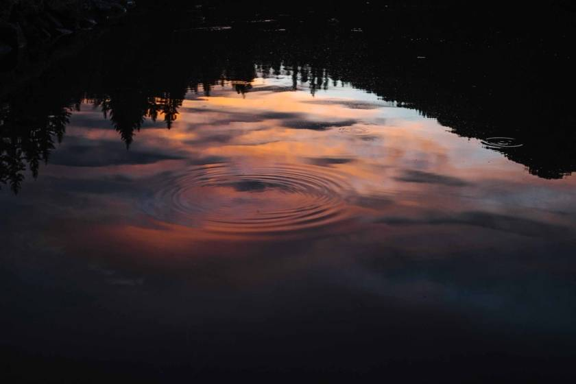Spitzingsee Sonnenuntergang dm0131