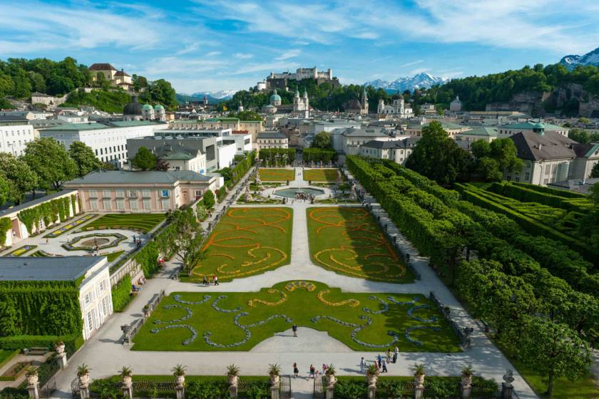 Salzburg Schlossgarten Mirabell