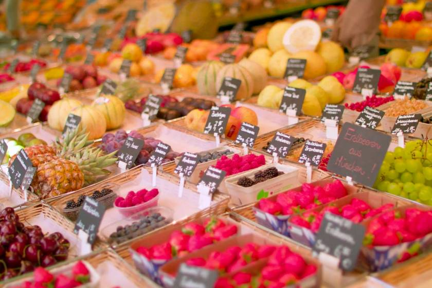 Obst Viktualienmarkt Redline