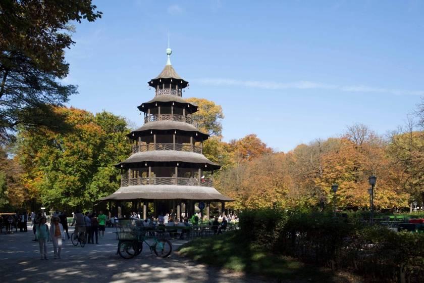 Englischer Garten Chinesischer Turm 74a7796