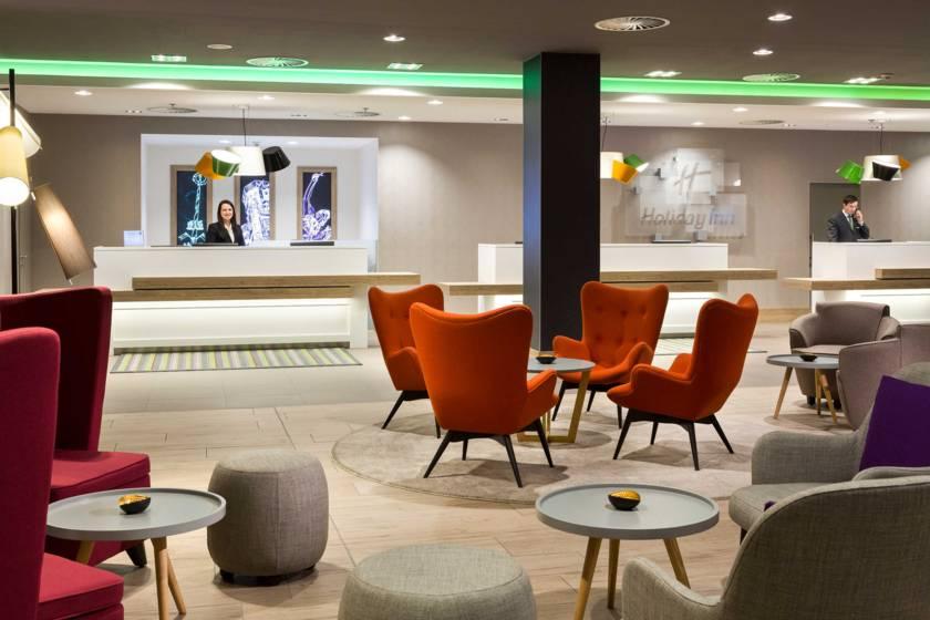 Holiday Inn München City Center Rezeption