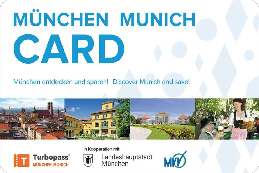 München Card 3000 2000 mit Rand
