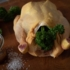 The right supplement? Sure, parsley, in heaps, just put it into the chicken before grilling it.