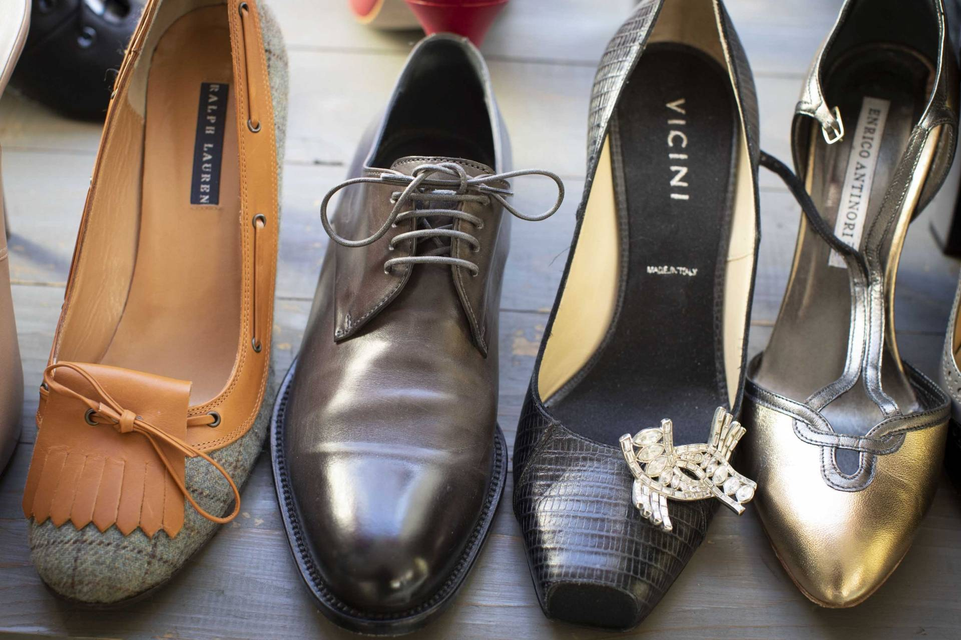second hand designer shoes