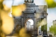 One of Schwabing's most beautiful landmarks is the Siegestor directly on Ludwigstraße.