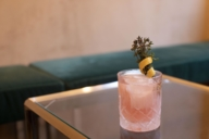 """Great drinks are available in the bar """"The High"""", where Saskia Diez also likes to go alone sometimes."""