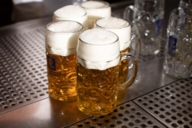 One of the most popular drinks in Bavaria: wheat beer.