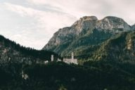 Neuschwanstein Castle, the fairy-tale castle of King Ludwig II, is one of the most visited castles in Europe. It can only be visited within a guided tour.