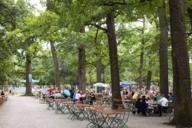 The Royal Hirschgarten - the largest beer garden in Munich.