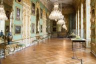 The treasury of the Munich Residenz is home to around 1,500 pieces, including royal regalia belonging to the Bavarian royal family.