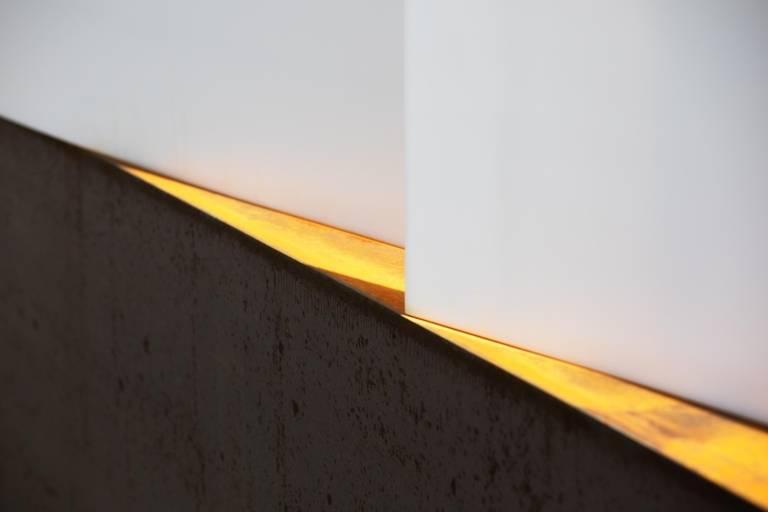 The work of art Luminous Link in the Maxvorstadt in Munich