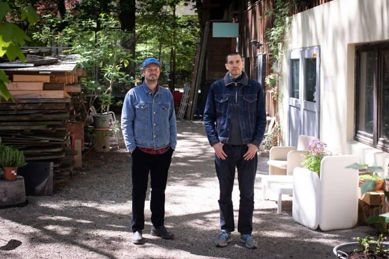 A portrait of the Munich based DJs 'Public Possession'