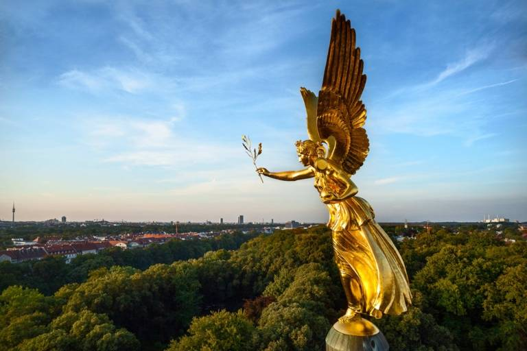 The Friedensengel - Angle of Peace - in Munich.