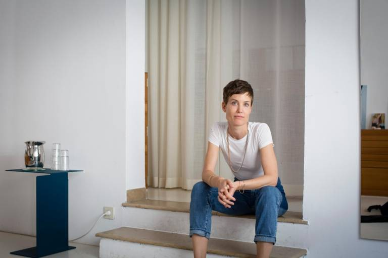 Jewelery designer Saskia Diez in Munich.