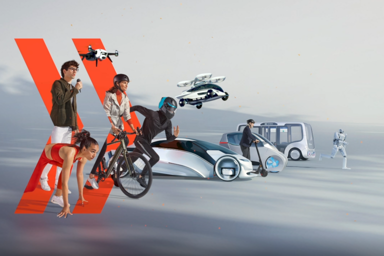 Key visual for the IAA Mobility 2021 in Munich.