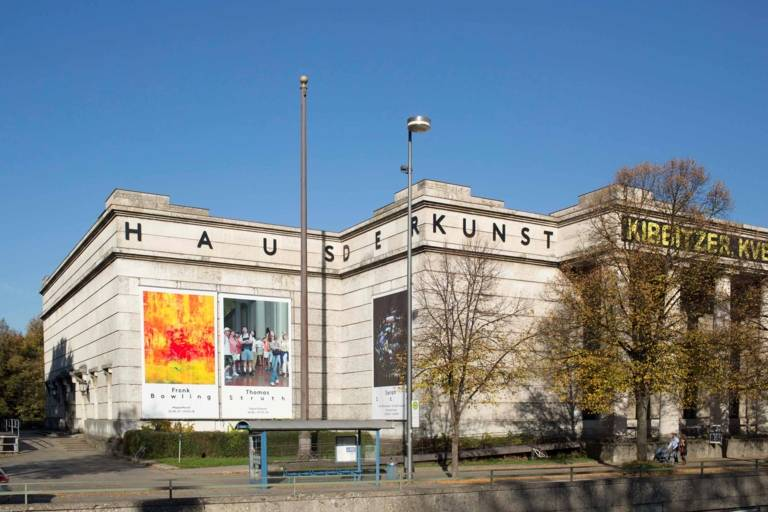 The Haus der Kunst in Munich.