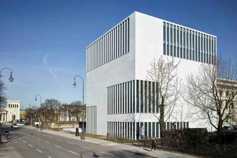Exterior view of the NS Documentation Centre in Munich.