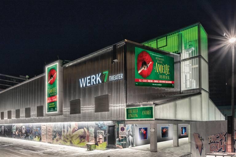 Exterior view of the Werk 7