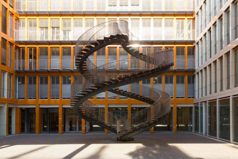 Endless Staircase in Munich.