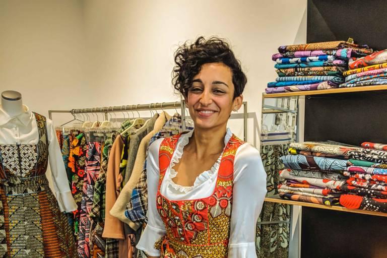 Leyla Kazim in a Dirndl of NohNee