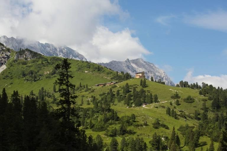 Wettersteingebirge at Garmisch-Partenkirchen.