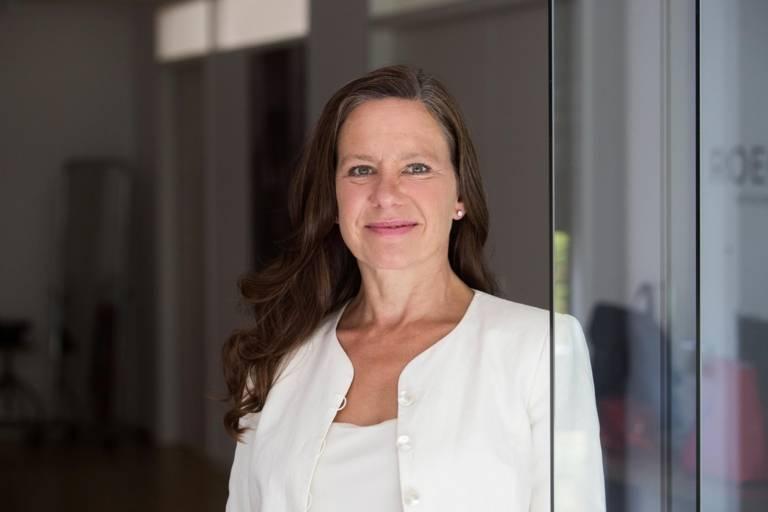 Entrepreneur Annette Roeckl in Munich.