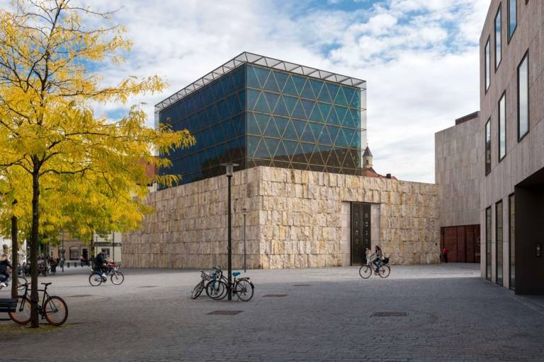 The Ohel Jakob Synagogue in Munich.